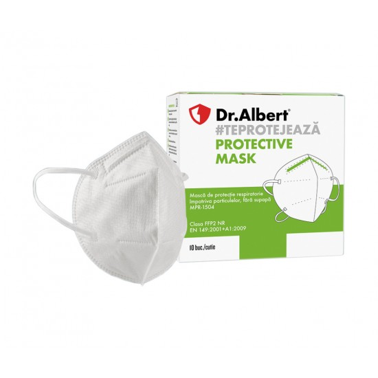 Masca protectie respiratorie FFP2, fara supapa, 5 straturi