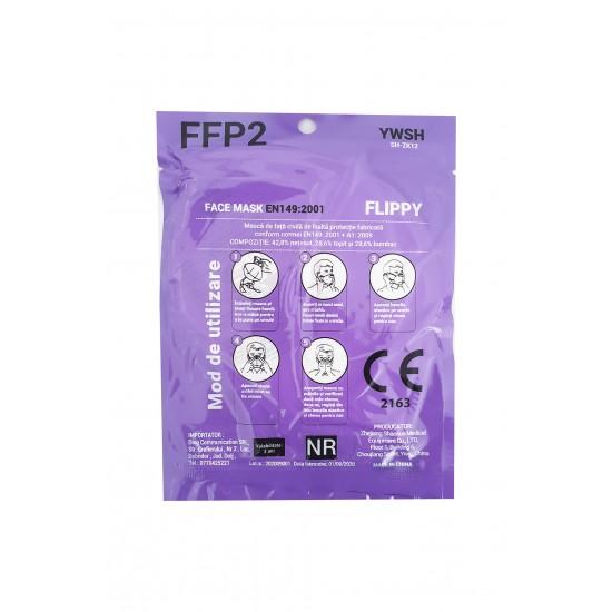 Masca protectie tip FFP2/N95, 5 straturi, ambalare individuala