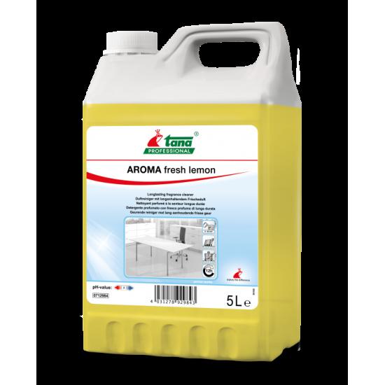 Detergent concentrat AROMA Fresh Lemon, suprafete diverse, 5L