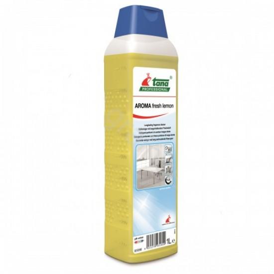 Detergent concentrat AROMA Fresh Lemon, suprafete diverse, 1L